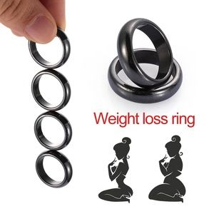 fancy fashions Accessories - Unisex Black Ring Strong Magnetic Slimming Rings